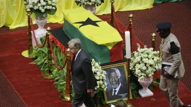 Ghana, Kofi Annan