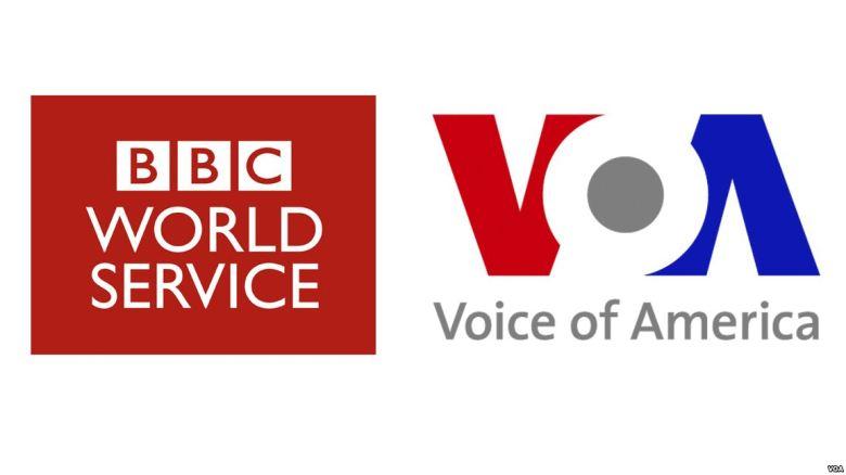 VOA & BBC